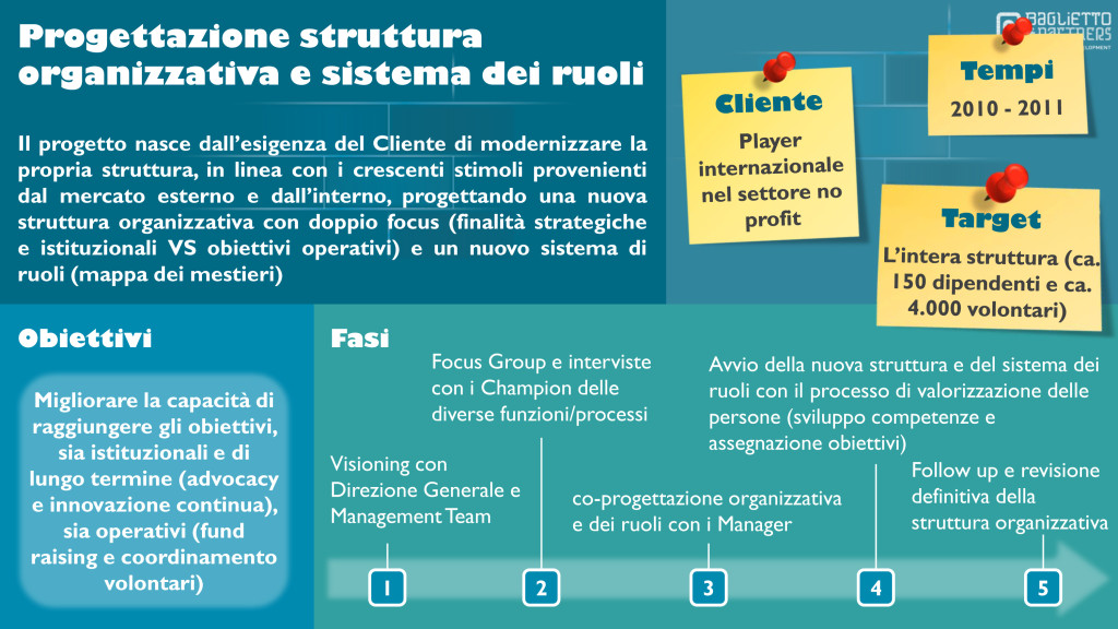 struttura organizzativa, sistema dei ruoli, development, human resources